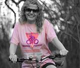 Maria Swift cycling